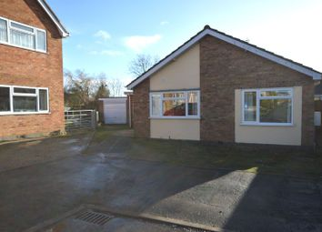 Thumbnail 4 bed bungalow for sale in Pells Close, Fleckney, Leicester