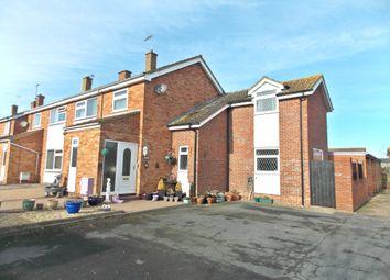 Thumbnail 4 bed semi-detached house for sale in Stuart Close, Felixstowe IP11, Felixstowe,