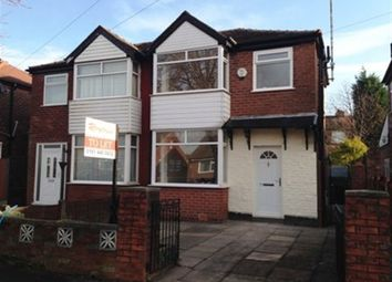 Thumbnail 2 bed semi-detached house to rent in 18 Brentford Road, Reddish