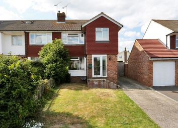 Thumbnail 3 bed semi-detached house for sale in Wheatfield Lea, Cranbrook, Kent