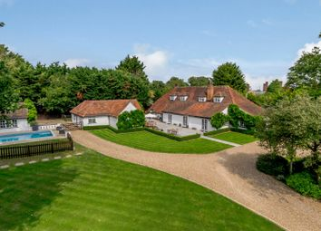 Twyford Road, Binfield, Berkshire RG42. 4 bed equestrian property