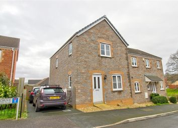 Thumbnail 3 bedroom end terrace house for sale in Raleigh Drive, Cullompton