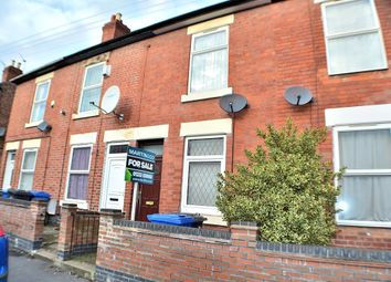 Thumbnail 2 bed terraced house for sale in Crewe Street, New Normanton, Derby