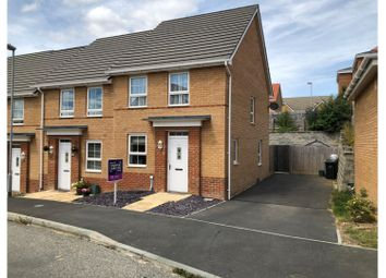3 bed end terrace house for sale in Wellesley Way, Newport PO30