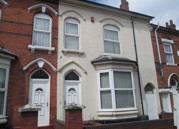 Thumbnail 4 bedroom terraced house to rent in Hampton Road, Aston