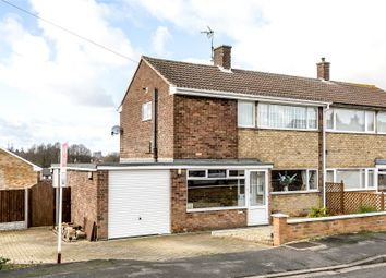 Thumbnail 3 bed semi-detached house for sale in Somerby Grove, Grantham
