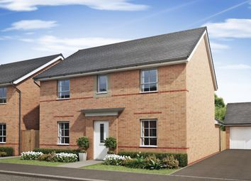 "Thumbnail 4 bed detached house for sale in ""Tamerton"" at Tregwilym Road, Rogerstone, Newport"