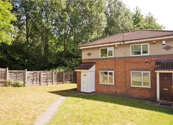 Thumbnail 2 bedroom semi-detached house for sale in Towcester Close, Manchester