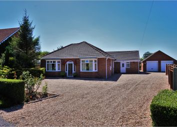 Thumbnail 4 bed detached bungalow for sale in Church End, Wrangle