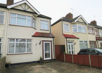 Thumbnail End terrace house for sale in Newbury Avenue, Enfield, Greater London