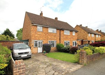 Thumbnail 3 bed semi-detached house for sale in Old Woking, Woking, Surrey