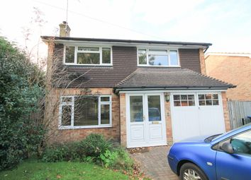 Thumbnail 4 bed detached house to rent in Rowplatt Lane, Felbridge, East Grinstead