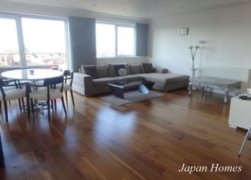 Thumbnail 3 bed flat to rent in Charlton Lodge, London