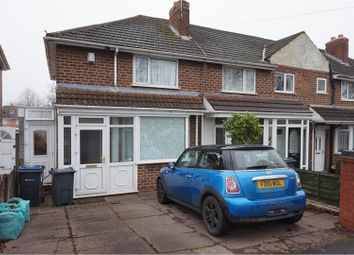 Thumbnail 2 bed end terrace house for sale in Old Oscott Lane, Great Barr, Birmingham