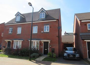 Thumbnail 4 bed semi-detached house for sale in Sandpit Drive, Birstall, Leicester