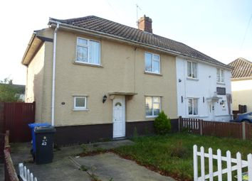 Thumbnail 3 bedroom semi-detached house to rent in Minden Road, Lowestoft