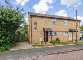 Thumbnail 2 bedroom semi-detached house for sale in Banktop Place, Emerson Valley, Milton Keynes, Bucks