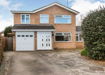 Thumbnail 4 bed detached house for sale in Oak Tree Close, Barnton, Northwich, Cheshire