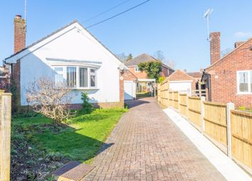 Thumbnail 3 bed detached bungalow for sale in Newtown Close, Andover