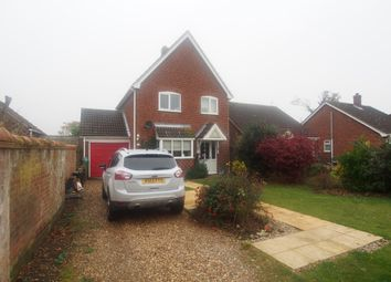 Thumbnail 3 bed detached house for sale in Rectory Gardens, Hingham, Norwich