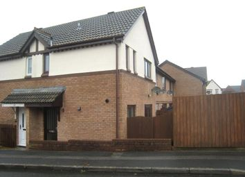 Thumbnail 2 bed end terrace house to rent in Barnfield Drive, Plymouth, Devon