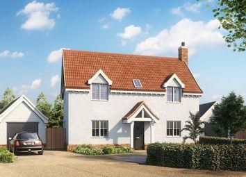 Thumbnail 4 bedroom detached house for sale in Mill Road, Badingham, Woodbridge