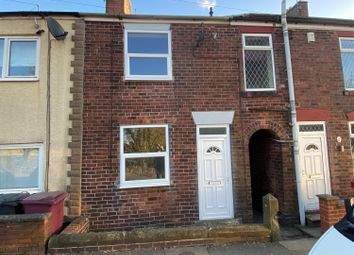 Thumbnail 2 bed terraced house to rent in Mansfield Road, Winsick, Hasland, Chesterfield