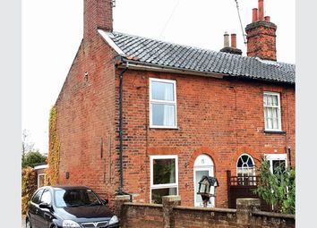 Thumbnail 2 bed end terrace house for sale in Commercial Road, Dereham