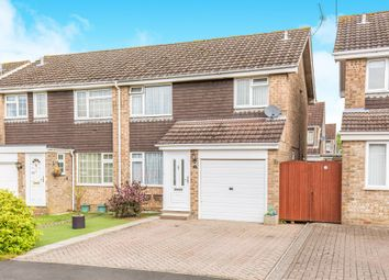 Thumbnail 3 bed semi-detached house for sale in Badger Close, Bishopstoke, Eastleigh