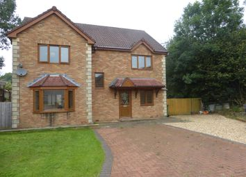 Thumbnail 4 bed detached house for sale in St Francis Field, Thomastown, Porth