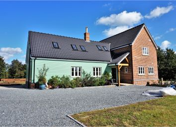 Thumbnail 3 bed detached house for sale in Church Road, Wretham