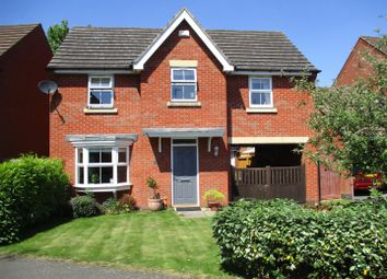 Thumbnail 4 bed detached house for sale in Loughland Close, Blaby, Leicester