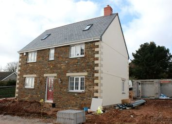 Thumbnail 4 bed detached house for sale in Hewas Water, St. Austell
