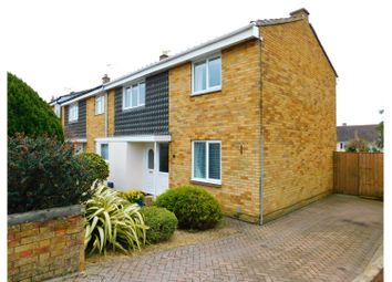 Thumbnail 3 bedroom end terrace house for sale in Bolingbroke Road, Swindon