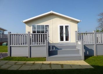 Thumbnail 2 bed bungalow for sale in Bryn Mechell Caravan Park, Llanfechll, Anglesey