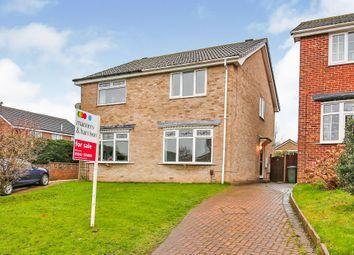 Thumbnail 2 bed semi-detached house for sale in Gorton Close, Billingham
