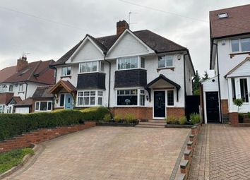 3 bed semi-detached house for sale in Widney Manor Road, Solihull B91