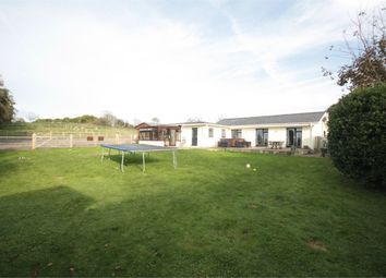 Thumbnail 4 bed detached bungalow for sale in Chalet Du Moine, Les Hamonnets, St John
