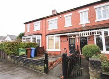 Thumbnail 3 bed terraced house to rent in Broadstone Hall Road South, Stockport