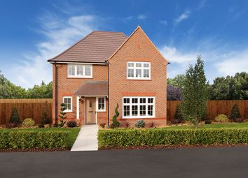 "Thumbnail 4 bed detached house for sale in ""Cambridge"" at Homington Avenue, Coate, Swindon"