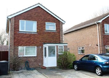Thumbnail 3 bed detached house for sale in Swanley Close, Eastbourne