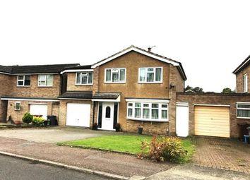 Thumbnail 4 bed detached house for sale in Dryden Crescent, Stevenage, Hertfordshire, England