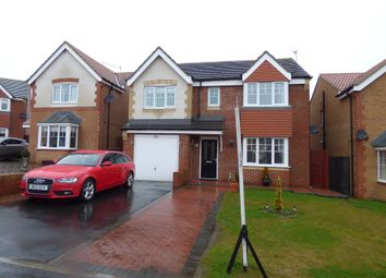 Thumbnail 4 bed detached house for sale in Torrance Close, Ashington