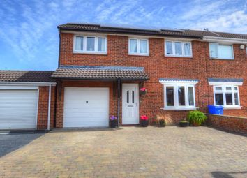 Thumbnail 4 bed property for sale in Burnham Close, Blyth