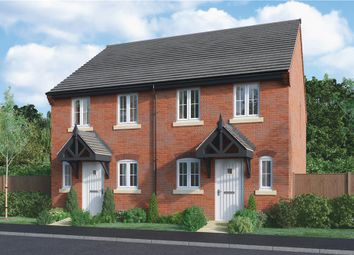 "Thumbnail 2 bed semi-detached house for sale in ""Ashford"" at Burton Road, Streethay, Lichfield"