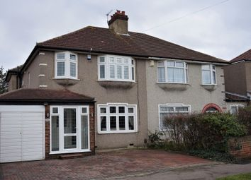 Thumbnail 3 bed semi-detached house for sale in Chiddingstone Avenue, Bexleyheath