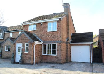 Thumbnail 3 bed detached house for sale in Launceston Drive, Nuneaton, Warwickshire