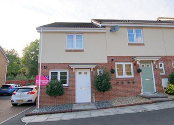 Thumbnail 2 bed end terrace house for sale in 86, Millrace, Abercarn, Newport, Caerphilly