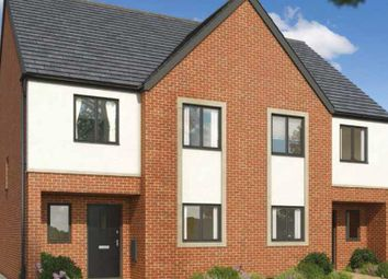 Thumbnail 4 bed semi-detached house for sale in Plot 7, The Mallards, Hampton Vale, Peterborough
