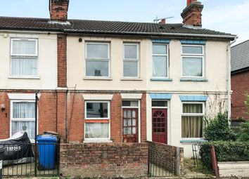 Thumbnail 2 bed terraced house for sale in Riverside Road, Ipswich